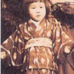 大原富枝幼少期の写真